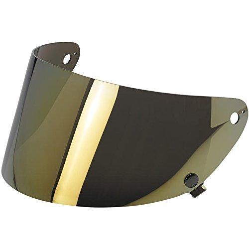 Biltwell Gringo S Helmet Flat Shield - Gold Mirror