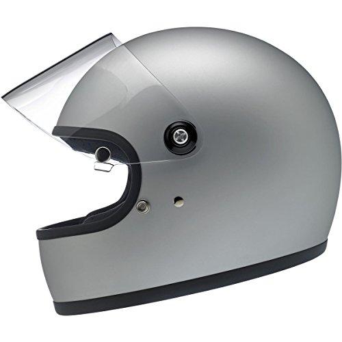 Biltwell Gringo S Helmet - Flat Silver - Medium