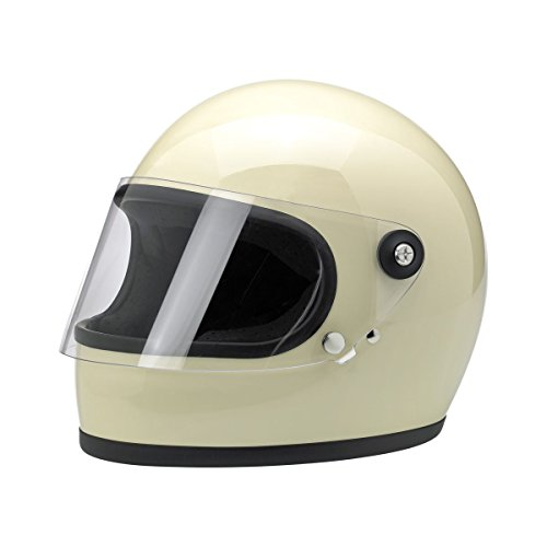Biltwell Gringo S Solid Full-face Motorcycle Helmet - Flat Black  Large