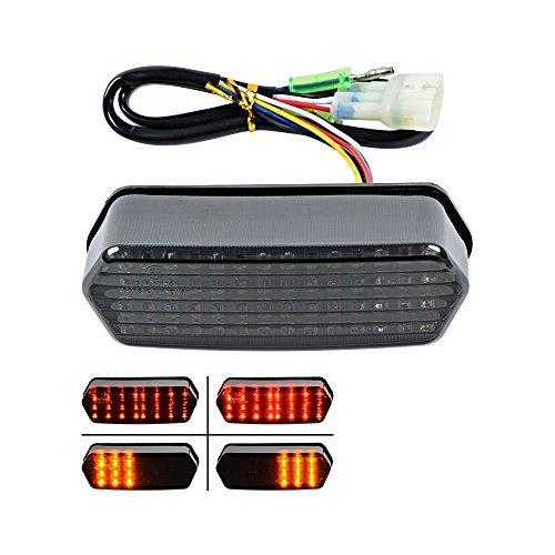 Integrated 56 LED Tail Turn Signal Brake Stop Light For 2014 -2016 Honda Grom 125 MSX Smoke