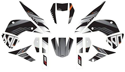 KTM 690 Duke Structure Graphic Kit 12-17 76008999200