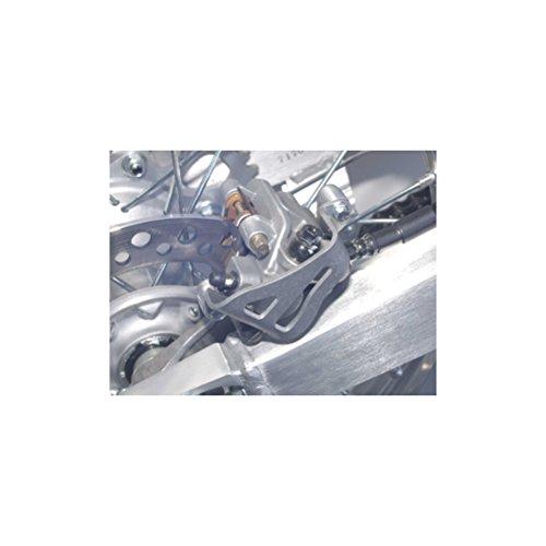 Works Connection Caliper Guard Rear Aluminum for Kawasaki KX KLX Suzuki RMZ