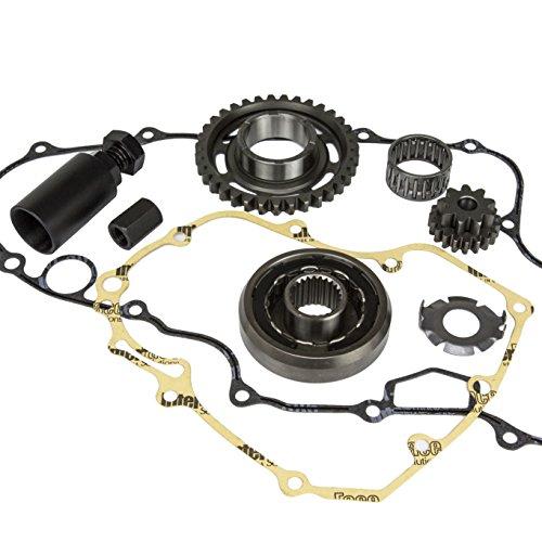 IDEAL Reinforced Starter Clutch Flywheel Puller Reduction Gear Gasket Kit for Honda TRX 450 450R 450ER TRX450 TRX450R TRX450ER 2006~2014