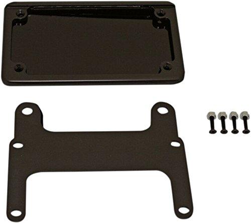 Custom Dynamics HDVPF-KIT-180-C LED License Plate Relocation Bracket Chrome 2002-2008 Harley V-Rod