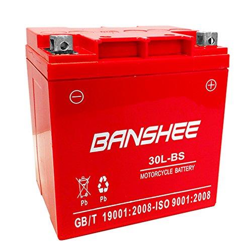 30L-BS Banshee Battery for Qualifying Harley Davidson Bikes 4 Year Warranty