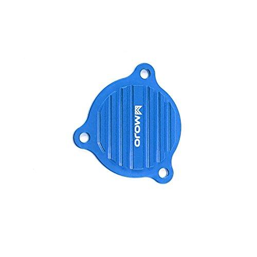 MojoMotoSport - KTM Oil Pump Cover Blue - CNC Billet Anodized Aluminum  MOJO-KTM-OPC-BLU