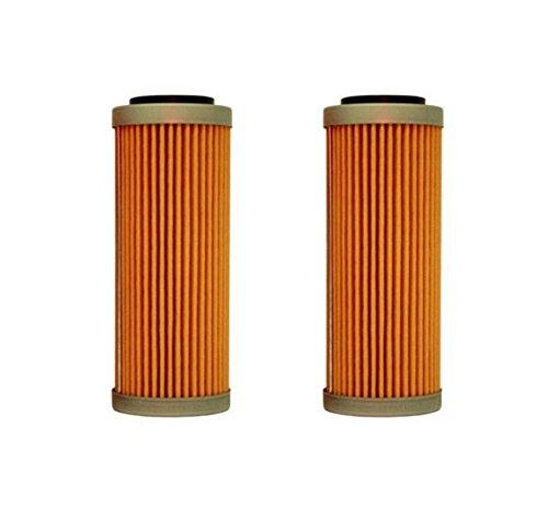 NEW OEM KTM OIL FILTERS 2 PACK 350 400 450 500 530 EXC-F SX-F XC-F XCF-W FACT ED 2008-2017 2X 77338005100