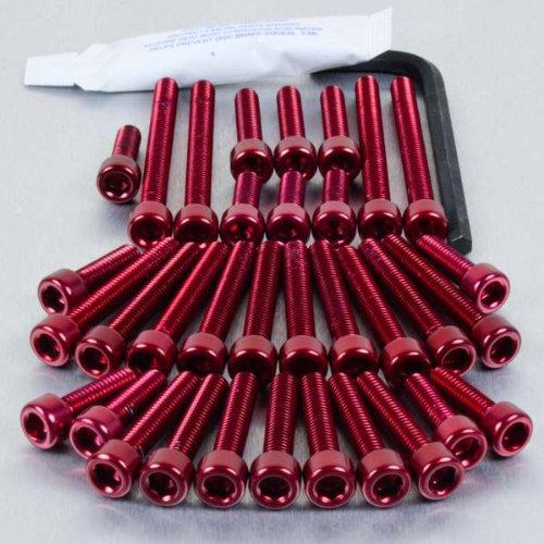Aluminium Engine Kit Suzuki DRZ400S Red