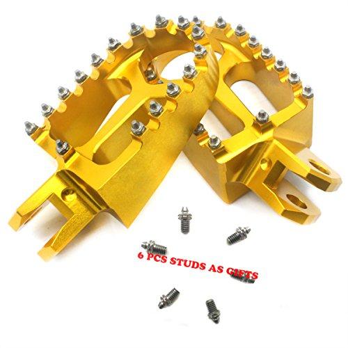 KKE SUZUKI CNC FOOTPEG DRZ400 00-04 DRZ400E 00-07 DRZ400S 00-17 GOLD