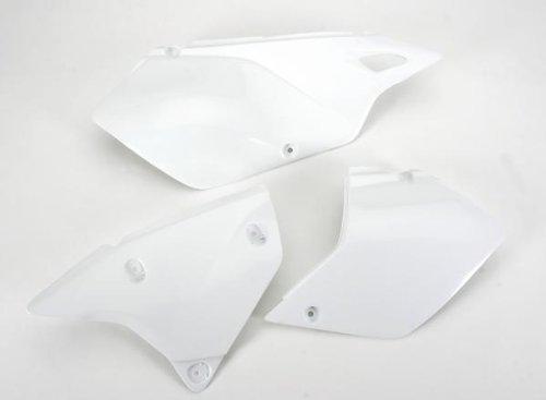 UFO SU03979041 Replacement Plastic FOR SUZUKI SIDE PNLS DRZ400 WHITE