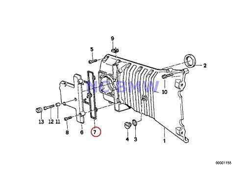BMW Genuine Motorcycle Timing Case Cover Gasket K1 K100RS K1100LT K1100RS K1200LT K1200RS K1200GT K1200RS K75 K75C K75RT K75S K100 K100LT K100RS K100RT