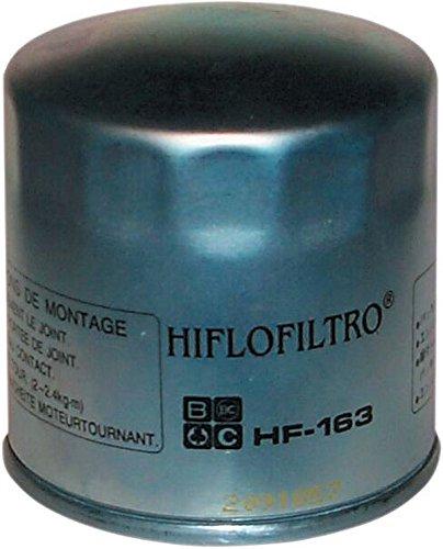 HIFLOFILTRO Premium Engine Oil Filter HF163 K1 1000 K100 K100 RS 4V K100LT K100RS K100RT K1100LT K1200GT ABS K1200LT K1200LT ABS K1200RS K1200RS K75 K75C K75RT K75S R1100GS R1100GS ABS R1100GSA R1100R R1100R ABS R1100RA R1100RS ABS R1100RSL ABS R1100RT AB