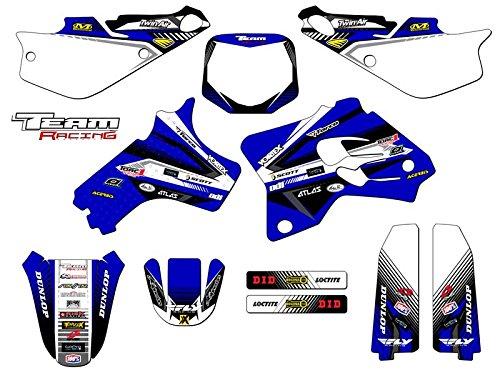 Team Racing Graphics kit for 1993-2001 Yamaha YZ 80 ANALOG Complete Kit
