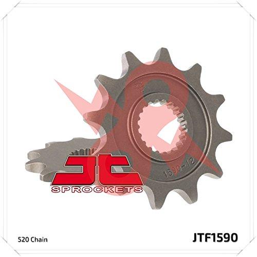 JT Sprockets Steel Front Sprocket - 14T  Sprocket Teeth 14 Color Natural Sprocket Size 520 Sprocket Position Front Material Steel JTF159014