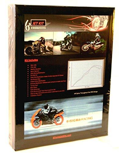 2002-03 Honda CR125R CR125 CR 125 R Custom Jetting Carburetor Stage 1-3 Jet Kit