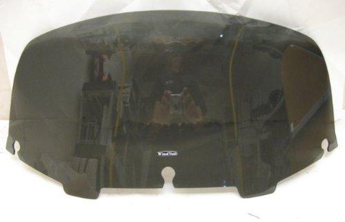 Windvest 61-8040 8 DarkGun Smoke Replacement Windshield For Harley-Davidson FLH