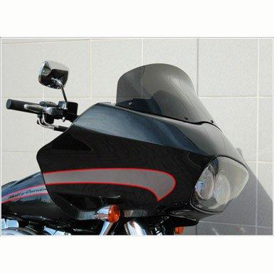 Windvest 62-1540 15 Gun Smoke Replacement Windshield For Harley-Davidson Road Glide Models
