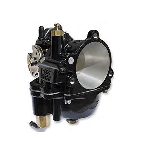 S&S Cycle Black Super E Carburetor
