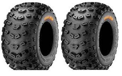 Pair of Kenda Klaw XC Sport 6ply ATV Tires Rear 22x11-10 2