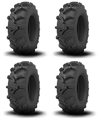 Set of 4 ATV KENDA Tires Executioner 25x10-12 FrontRear