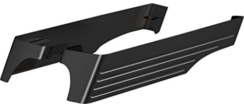 Cyclesmiths 3in Saddlebag Extensions with XL Cutouts - Black Powder Coat 200XLBB