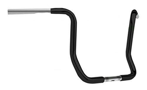 Cyclesmiths Ape Hanger 1 14in Handlebar - 13in Rise - Black Handle Bar Size 1 14in Color Black 113-W-14BP