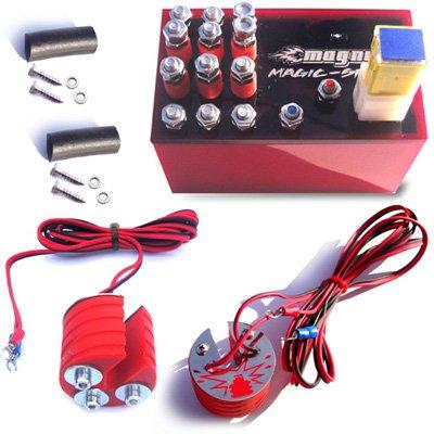 Magnum Magic-Spark Plug Booster Performance Kit Harley-Davidson XL 1200 V2 EVO Ignition Intensifier - Authentic