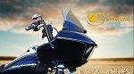Dark 10 in Stingray Windshield 2015-2016 Harley Road Glide
