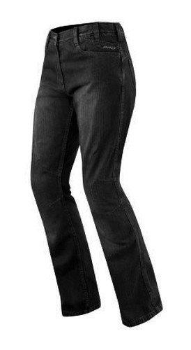 Jeans Ladies Denim Ce Knee Armored Motorcycle Apparel Bikers Pants Black 28