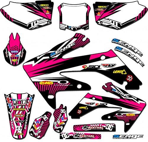Senge Graphics 2004-2013 Honda CRF 70 Mayhem Pink Graphics kit