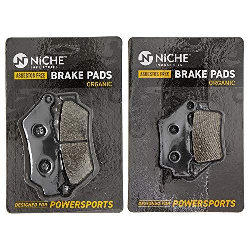 NICHE Brake Pad Set For KTM 690 Enduro R 60013030000 75013090000 Complete Organic