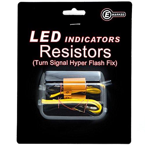 Krator Led Bulb Load Resistors Flash Turn Signal Fix For Harley Davidson Electra Glide Classic Custom