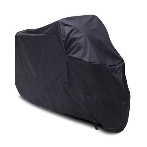Black Motorcycle Cover For Harley Davidson FLHX STREET GLIDE UV Dust Prevention XXL