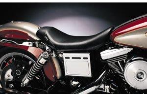 Le Pera Bare Bones Solo Vinyl Seat for 1997-2011 Harley Davidson Touring Models - HD FLHX Street Glide 2006-2007