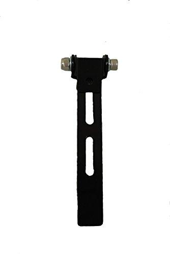 La Rosa Design Solo Seat Front Bar with Swivel Bracket - Black
