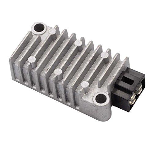 GOOFIT 4 Pin Voltage Regulator Rectifier for Yamaha XT 225 250 600 TW 125 200 225 XJ 400 600 XV250 Motorcycle