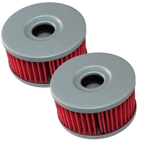 Caltric 2-PACK Oil Filter Fits SUZUKI 250 TU250X TU-250X 2009-2012