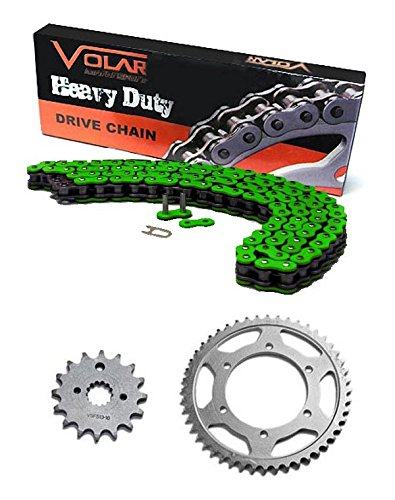 2004-2013 Yamaha YFZ450 Chain and Sprocket Kit - Heavy Duty - Green