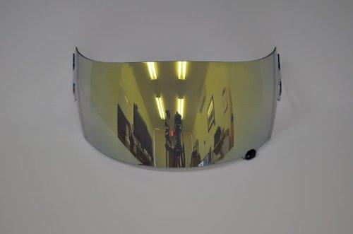 New Gold Mirror Iridium Helmet Visor Shield For Suomy Spec 1r Extreme Apex Excel(aftermarket Shield)