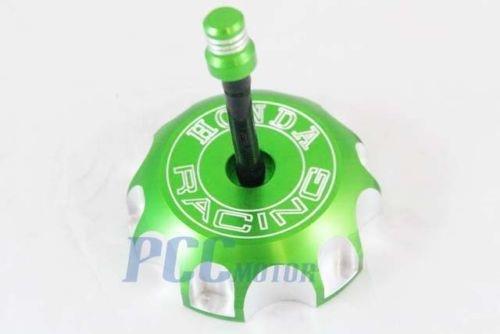 5Z GREEN CNC BILLET FUEL GAS CAP For Honda 2004-2009 CRF250RX CRF450RX GC10