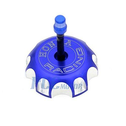 BLUE CNC BILLET FUEL GAS CAP For Honda 2004-2009 CRF250RX CRF450RX GC10