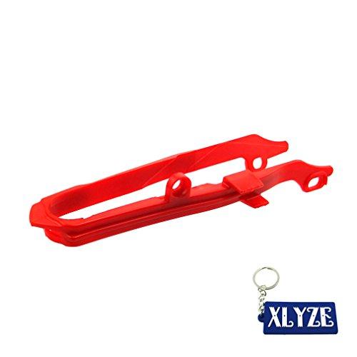 XLYZE Red Chain Slider For Honda 2000-2007 CR125R CR250R 2004-2009 CRF250R 2004-2013 CRF250X 2002-2008 CRF450R 2005-2009 CRF450X 2012-2017 CRF450X