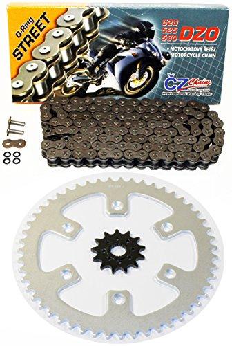 Honda 2010-2014 CRF250R CZ DZO O Ring Chain And Sprocket 1348 120L