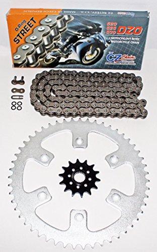 Honda 2010-2014 CRF250R CZ DZO O Ring Chain And Sprocket 1352 120L