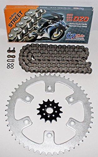 Honda 2010-2014 CRF250R CZ DZO O Ring Chain And Sprocket 1448 120L