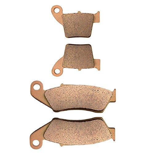 AHL Front Rear Brake Pads Set for Honda CRF250 RX 2004-2015 Sintered copper-based
