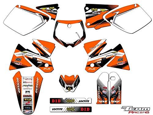 Team Racing Graphics kit for 1998-2000 KTM SX ANALOGComplete kit