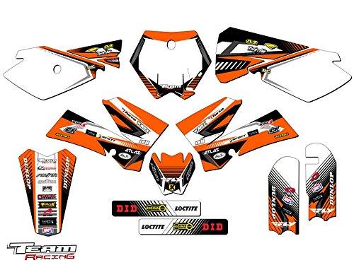 Team Racing Graphics kit for 2006-2012 KTM SX 85105 ANALOGComplete kit