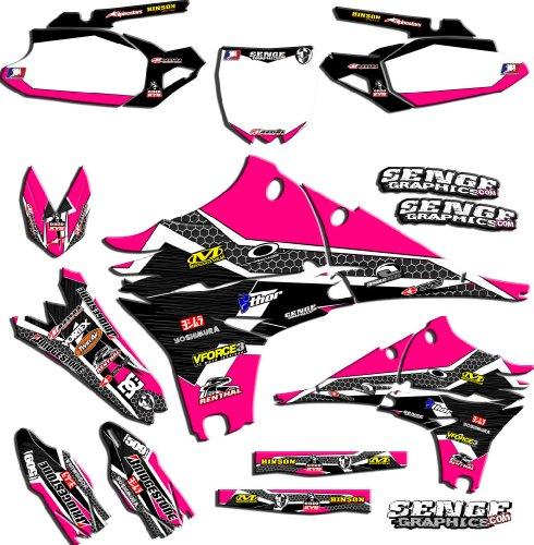 Senge Graphics 2017 KTM SX 125150250 Podium Pink Graphics Kit