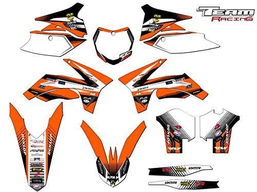 Team Racing Graphics kit for 2013-2015 KTM XCF ANALOGComplete kit